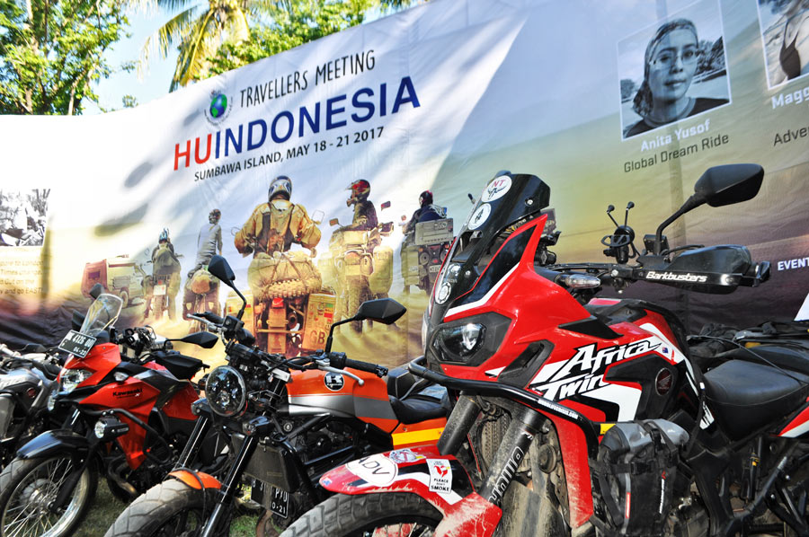 Poster Africa Twin horizontal