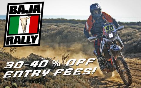 Pre-Season Registration Discounts for 2018 Baja Rally
