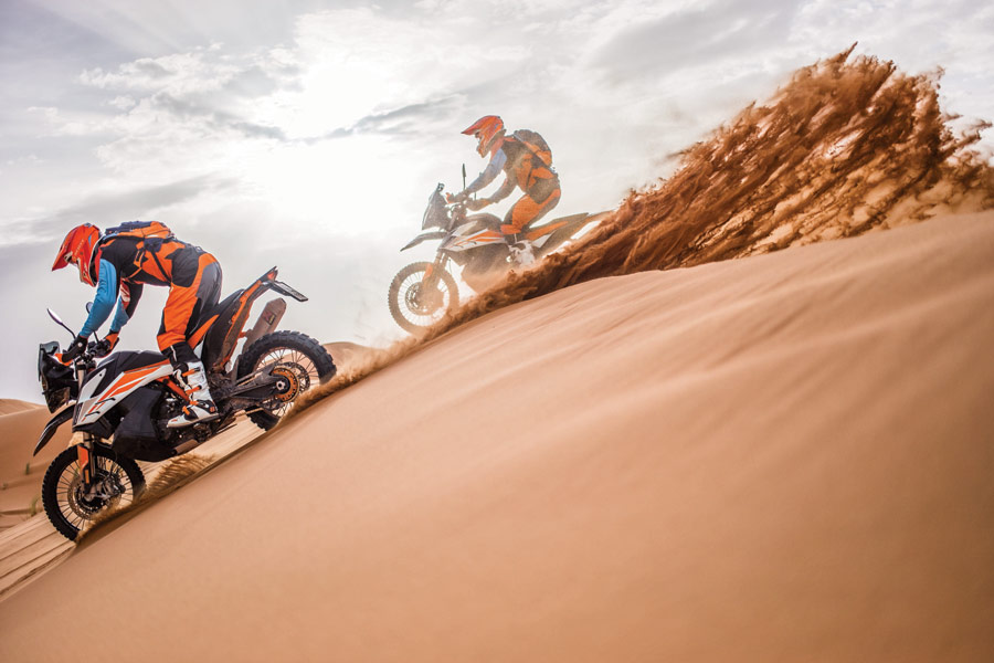 KTM Ultimate Race KTM 790 ADVENTURE R in action