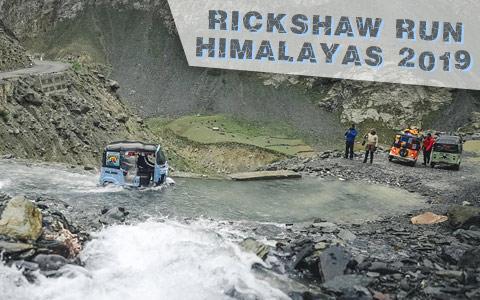 Conquering the Himalayas: Rickshaw Run 2019