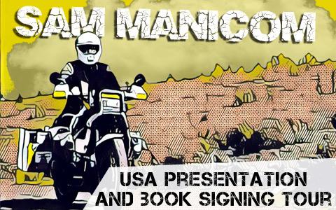 Sam Manicom 2018 USA Presentations and Book Signings