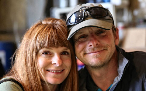 Lisa Morris and Jason Spafford - Two Wheeled Nomad